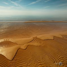 sand. Tūja, Latvia