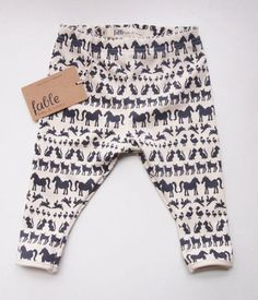 Style: Eleven Wardrobe Picks For Rad Kids  (COMFY! Baby leggings by fablebaby on ETSY)