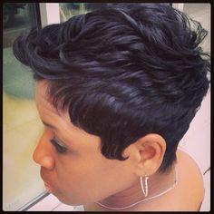Pleasing 1000 Images About Hair Styles On Pinterest Razor Chic Atlanta Short Hairstyles For Black Women Fulllsitofus