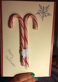 Kartka świąteczna - Słodkości