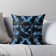 Triangular Dreams Throw Pillow Case Personalized Pillow Cases, Custom Pillow Cases, Throw Pillow Cases, Custom Pillows, Pillow Covers, Throw Pillows, Guest Room Decor, Dreams, Guest Bedroom Decor