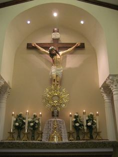 God so appreciates the humble Catholics who adore Him and obey Him in every aspect of their lives. Catholic Altar, Catholic Churches, Catholic Priest, Jesus Our Savior, Prayer Corner, Home Altar, Aesthetic Photography Nature, Holy Rosary, Jesus Is Coming