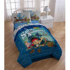 Jake and Neverland Bedding | Jake and The Neverland Pirates Bedding Comforter - Walmart.com - Wills Room