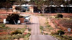 You needed a pass to get in when I was living there: Woomera, South Australia