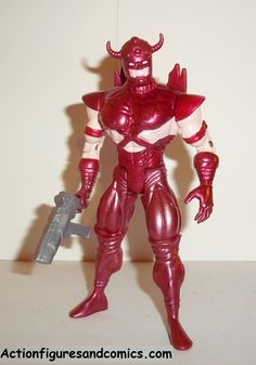 X-MEN X-Force toy biz ERIC THE RED 1995 complete marvel universe action figures 1996