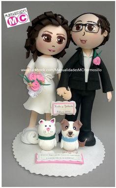 """Proyecto """"Hesler y Yolanda"""" con mascotas de gato y perro sencillos"""