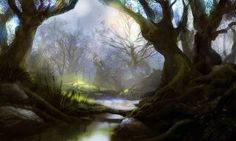 Image detail for -Mystic forest by ~PE-Travers on deviantART Mystical Forest, Fantasy Forest, Tree Forest, Dark Forest, Marquise, Fairy Land, Tree Art, Picture Photo, Worlds Largest