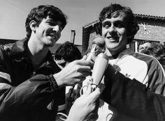 Paolo Rossi et Michel Platini