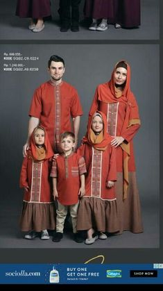Gamis Zia Islamic Fashion, Muslim Fashion, Hijab Fashion, Fashion Outfits, African Shirts For Men, Mother Daughter Fashion, Prom Dresses Long Pink, Baby Frocks Designs, Batik Fashion