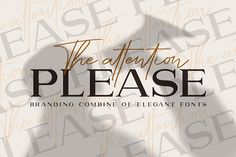 Attention l Combine with Extra Bonus by Haksen on @creativemarket
