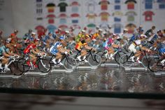Tour of Flanders winners are immortalized in figurines (Tour of Flanders museum in Oudenaarde)