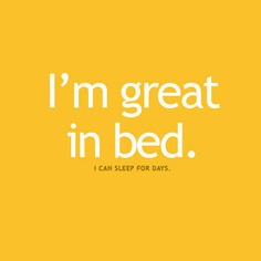 Great in bed