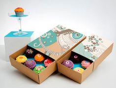 Boîte à minis cupcakes