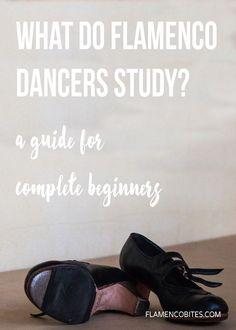 What do flamenco dancers study?