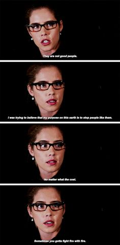"""""""I'm not worried about them. I'm worried about you."""" #Arrow #Season5 #5x12"""