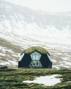 The Kvivik Igloo on the Faroe Islands. Yes, you can rent this out! ~By Dylan Furst on Instagram