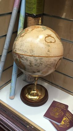 Globe Vintage World Maps, Globe, Speech Balloon