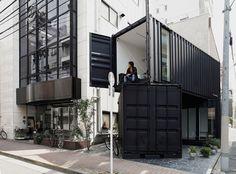 CC4441: Escritório + Casa em Containers