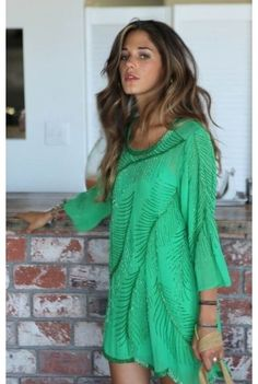 Android Green Summer Dress For Ladies