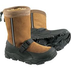 I would never wear an Ugg Boot. It's made for the ladies who are more fashion conscious. For men, Cabela's Alaskan Guide High Sneaker gets the nod from ElGuapo when it's cold, wet and just plain ugly outside.