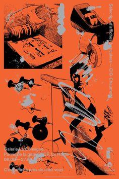 Thomas Bizzarri et Alain Rodriguez • sélection des affiches françaises • CIG Chaumont
