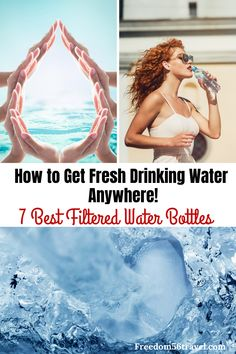 Learn how to choose the right filtered water bottle for you! Whether for sports travel or survival you need a filtered water bottle! Solo Travel Tips, World Travel Guide, Packing Tips For Travel, Backpacking Tips, Travel Couple, Family Travel, Travel Kids, Best Filtered Water Bottle, Canadian Travel
