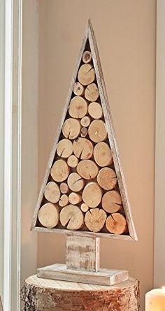 "Dekobaum ""Natura"" Dekoleidenschaft Pallet Wood Christmas Tree, Christmas Wood Crafts, Unique Christmas Trees, Rustic Christmas, Xmas Tree, Christmas Projects, Christmas Holidays, Christmas Decorations, Christmas Ornaments"