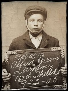 Fascinating old mugshots of North Shields prisoners from the early 1900s: Alfred Yarrow, 1905 (Tyne and Wear Archive and Museums)