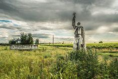 Abandoned Soviet Monuments Zimnitsa