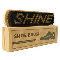 For Him: Shoe shine brush