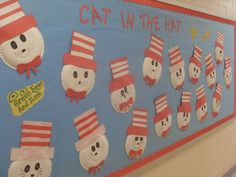 Dr. Suess Birthday party ideas | ... Guajardo's Kinder Class did these crafty paper plate Dr. Seuss faces