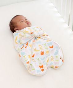 Infantino Easy Tie Cocoon Blankets - Set of 2