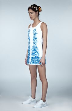 Ivincia London is an independent women's luxury tennis apparel brand. We design special limited edition tennis dresses from textiles designed in our studio. Tennis Shorts, Tennis Clothes, White Tennis Dress, Ladies Of London, Independent Women, Long Shorts, Dress Codes, Dress Making, Summer Dresses
