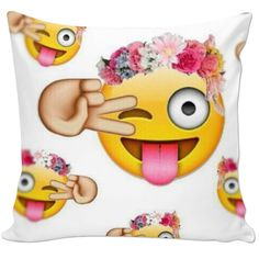Selfie Emoji Pillow