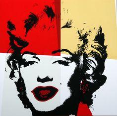 Andy Warhol, Sunday B. Morning - Golden Marilyn #38 on eBid United States