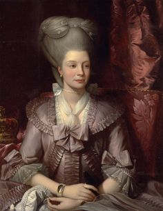 Charlotte of Mecklenburg-Strelitz (1744 – 1818), Queen Consort of Great Britain and Ireland