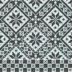 knit or cross stitch pattern Cross Stitch Borders, Cross Stitch Samplers, Cross Stitch Charts, Cross Stitch Embroidery, Cross Stitch Patterns, Motif Fair Isle, Fair Isle Chart, Fair Isle Pattern, Designer Knitting Patterns