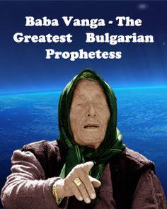 Vangelia Gushterova or Baba Vanga (grandmother Vanga in Bulgarian) is recognized…