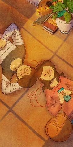 Wedding couple illustration romantic 69 new ideas Cute Couple Drawings, Cute Couple Art, Cute Drawings, Cute Couple Wallpaper, Love Wallpaper, Cartoon Wallpaper, Paar Illustration, Couple Illustration, Puuung Love Is