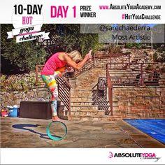 Congrats to the Day 1 winners of Absolute Yoga Academy's Hot #Yoga Challenge! #HotYogaChallenge #PlankYogaMats #GetGrounded @briohnysmyth