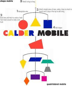 Calder Shape Mobile