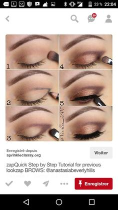 Make-up # Mode # Naildesing # Nailidea # Frisur # Make-up # Hochzeit Haar . - eye makeup - - Make-up # Mode # Naildesing # Nailidea # Frisur # Make-up # Hochzeit Haar . Makeup 101, Makeup Hacks, Makeup Trends, Makeup Ideas, Makeup Tutorials, Makeup Brushes, Makeup Geek, Eye Trends, Prom Makeup