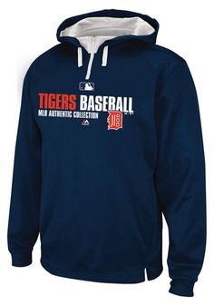 Detroit Tigers Mens Hooded Sweatshirt - Navy Blue Detroit Team Favorite Long Sleeve Hoodie http://www.rallyhouse.com/shop/detroit-tigers-majestic-66453?utm_source=pinterest&utm_medium=social&utm_campaign=Pinterest-DetroitTigers $69.99