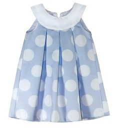 Dress with round flap and pleats - DIY- marlene mukai - children's mold Toddler Dress, Toddler Outfits, Baby Dress, Kids Outfits, Little Dresses, Little Girl Dresses, Cute Dresses, Girl Dress Patterns, Clothing Patterns