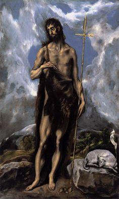 El Greco - St John the Baptist