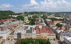 Lviv, Ukraine in the Carpathian mountains, where my family is from