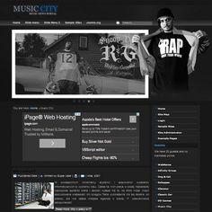 Music City Free Joomla Template