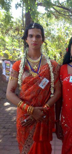 Indian Ladyboy Sissyboy Cross Dresser T Girl Shemale -4841