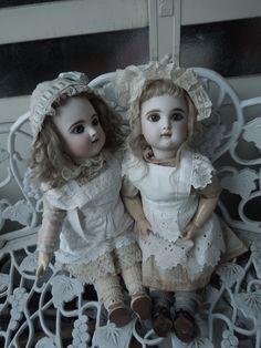 Antique French Eden Bebe dolls