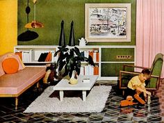 1955 advertisement for flooring.